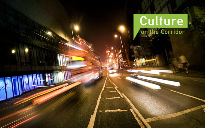 Corridor Manchester Culture on the Corridor Logo